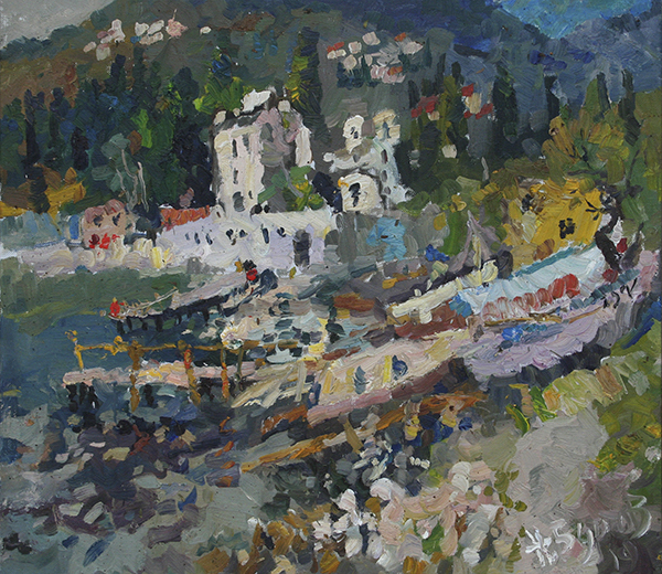painting, landscape, realism, other countries, Ukraine, Crimea