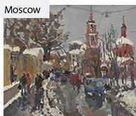 Moscow, vyew, winter